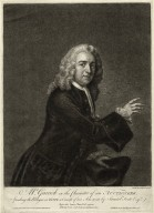 Mr. Garrick in the Character of an Auctioneer