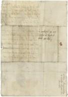 Letter from Lettice Kynnersley, Badger, to Richard Bagot