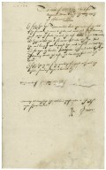 Examination of William Elsey, concerning the eating of a goose on Shrove Monday.
