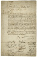 """Petition to King Charles II. The petitioners are dispossed of their estates """"by the late Usurped powers the same was given by the late Usurper..."""""""