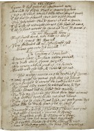 Poetical commonplace book, probably compiled by a person connected with Oxford.
