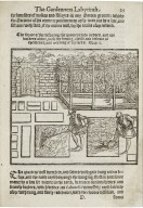 The gardeners labyrinth: containing a discourse of the gardeners life, in the yearly trauels to be bestovved on his plot of earth, for the vse of a garden...
