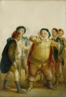 Falstaff Describing the Fight at Gadshill