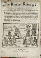 The Ranters ranting: with the apprehending, examinations, and confession of Iohn Collins, I. Shakespear, Tho. Wiberton, and five more which are to answer the next sessions...