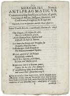 Mercurius anti-pramaticvs: Communicating some remarkable intelligence, from...