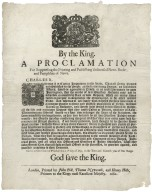 By the King. A proclamation for suppressing the printing and publishing of unlicensed news- books and pamphlets of news ...