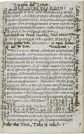Annotations in Facetie motti, et burle di diversi signori et persone private...