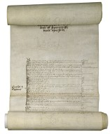 New Year's gift roll of Elizabeth I, Queen of England [manuscript], 1584/5 January 1.
