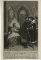 King Henry VIII, act 3, scene 2, Wolsey, Duke of Norfolk, Suffolk, &c. [graphic] / painted by R. Westall, R.A. ; engraved by W.C. Wilson.