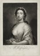 Mrs. Woffington [graphic] / A. Pond pinxt. ; Jas: M: Ardell fecit.