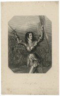 Joan of Arc [fighting the English, scene from] King Henry 6, part 1, act 1, sc. 5 [graphic] / Edward Corbould ; H. Cook.
