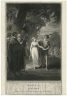 Winter's tale, act IV, scene III [i.e. scene IV] [graphic] / Joseph Collyer ; painted by W. Hamilton.