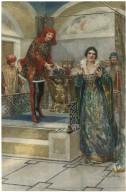 [Merchant of Venice: III, 2, the casket scene] [graphic] / Henry J. Haley.