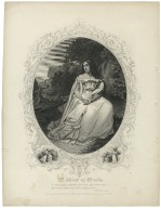 "Mrs. Abbott [sic] as Miranda: ""O, I have suffered,"" Tempest, act 1, sc. ii [graphic]."