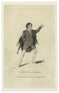 Mr. Abbot as Romeo [graphic] / Cruikshank, del. ; Alais, sculp.