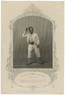 Mr. Ira Aldridge as Mungo in The padlock [graphic] / engraved by T. Hollis ; from a daguerreotype by Paine of Islington.