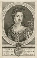 Anna d. gratia Angliae Scotiae Franciae et Hiberniae regina ... [graphic] / I. Nutting sculp.