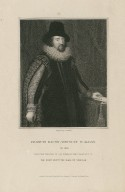 Francis Bacon, viscount St. Alban, ob. 1626 [graphic] / from the original of Van Somer ; engraved by J. Cochran.