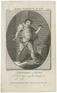 Act 2, King Henry VI pt. 2nd, scene 3, Mr. Baddeley in Peter ... [graphic] / M. Brown delt. ; Thornthwaite sculp.