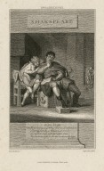 Mr. Barrymore ... King John, Hub., read here young Arthur ... [graphic] / drawn by Burney ; engrav'd by Parker.