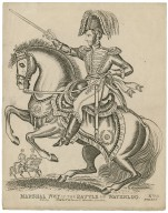 Marshal Ney at the Battle of Waterloo [graphic].