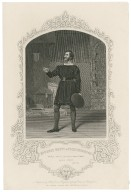 Mr. Henry Betty as Faulconbridge ... King John ... [graphic] / engraved by Hollis ; from a daguerreotype by Paine of Islington.