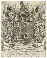 Sr. Thomas Hanmer of Hanmer in Com[itatu] Flint Baronet, 1707 [graphic].