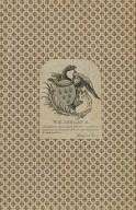 Nemo sine vitiis, [bookplate for] W.H. Ireland [graphic].