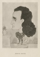Edwin Booth [caricature as Hamlet] [graphic].