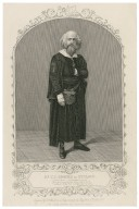 Mr. G. V. Brooke as Shylock ... [graphic] / engraved by T. Hollis ; from a daguerreotype by Fitzgibbon of St. Louis, U. S.