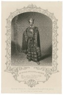Mr. M'Kean Buchanan as Macbeth ... [graphic] / engraved by T. Sherratt ; from a daguerreotype by Brinkerhoff & Co., New York.