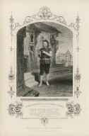 Mr. Buckstone as Launcelot Gobbo [graphic] / engraved by Hollis from a daguerreotype by Mayall.