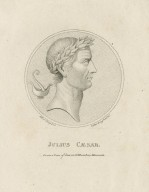 Julius Caesar, from a coin of him in Dr. Hunters museum [graphic] / S. Harding, del. ; E. Harding junr., sct.