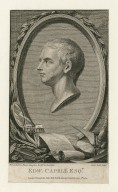 Edw. Capell esqr., London [graphic] / from a model in plaister taken from the life by Roubiliac ; Anker Smith sculpt.