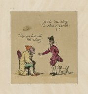 I hope you don't call that acting. Yes I do -- true acting, the school of Garrick! [graphic]