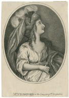 Mrs. Crawford in the caracter [sic] of Cleopatra [in Shakespeare's Antony and Cleopatra] [graphic].