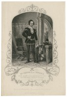 Mr. Creswick as Hotspur ... [in Shakespeare's] King Henry IV part 1, act 2, sc. 3 [graphic] / engraved by Sherratt ; from a daguerreotype by Paine of Islington.