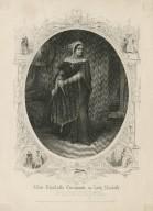 Miss Charlotte Cushman as Lady Macbeth [graphic] : [in Shakespeare's Macbeth].