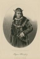 Bogumil Dawison aus dem I. acte in Richard III [graphic] / stich, d. Englischen Kunstanstalt v. A.H. Payne.