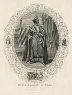 Mr. E.L. Davenport as Othello [in Shakespeare's Othello] [graphic] / T. Phillibrown sculp.