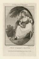 Twelfth night, Miss Farren in Olivia [graphic] / Burney, delt. ; Thornthwaite, sculpt.