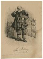 Theodor Döring als Falstaff in: Heinrich der IVte erster theil [graphic] / stich, d. Englischen Kunstanstalt v. A.H. Payne.