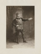 [John Drew as Petruchio in Shakespeare's Taming of the shrew] [graphic].