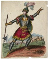 Mr. Ducrow as St. George [in the play by Charles Isaac Mungo Dibdin] [graphic].