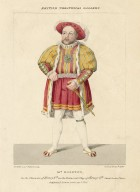 British theatrical gallery, Mr. Egerton in the character of Henry 8th in the historical play of Henry 8th [by Shakespeare], Covent Garden theatre [graphic] / De Wilde, pinxt. ; Waldeck, lithog. ; printed by Rowney & Forster.