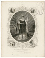 Mrs. Farren as Queen Katharine [in Shakespeare's] King Henry VIII, ac. II, sc. IV [graphic].