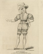 Mr. W. Farren as Sir Thurio in the Two gentlemen of Verona [by Shakespeare] [graphic].