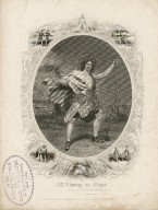 Mr. Fleming as Edgar ... [in Shakespeare's King Lear] [graphic] / F.A. Chapman, [delt.] ; S. Hollyer, sc.