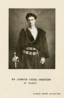 Sir Johnston Forbes-Robertson as Hamlet [in Shakespeare's Hamlet] [graphic].
