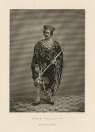 Edwin Forrest as Othello [in Shakespeare's Othello] [graphic] / G. R. Hall [sculp.].